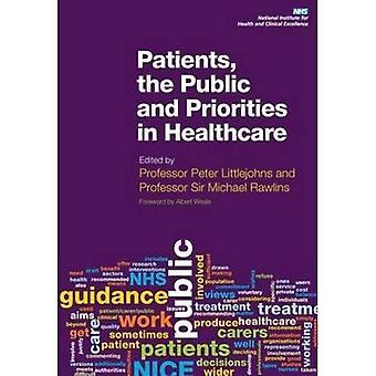 Pacientes, el público y las prioridades en salud