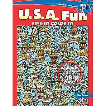 Spark U.S.A. kul tycker det! färg det!
