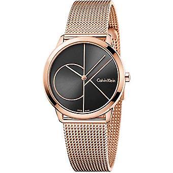 Calvin Klein ladies Quartz analogue watch with stainless steel band K3M22621