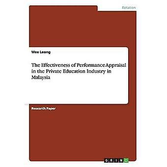 L'efficacité de l'évaluation du rendement dans le secteur de l'enseignement privé en Malaisie par Leong & Wee