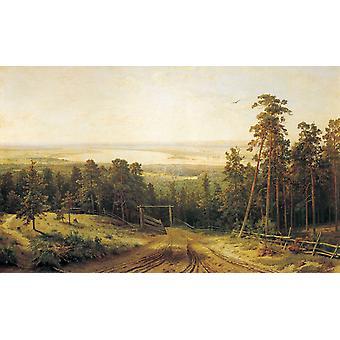 المناظر الطبيعية، إيفان شيشكين، 60x37cm