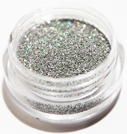 1pcs finkornet glitter sølv