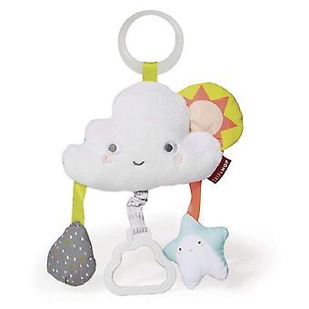 Skip hop argent doublure nuage gigue poussette jouet