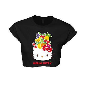 Hello Kitty fruits chapeau des femmes recadrée T-Shirt