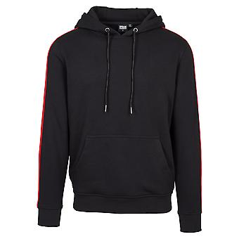 Urban classics men's Hoody stripe shoulder