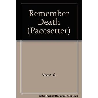 Remember Death by G. Meena - 9780333594810 Book