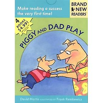 Piggy and Dad Play by David Martin - 9780763613334 Book