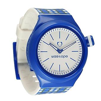 Wize and Ope Postal  Blue Shuttle Watch SH-OP-3