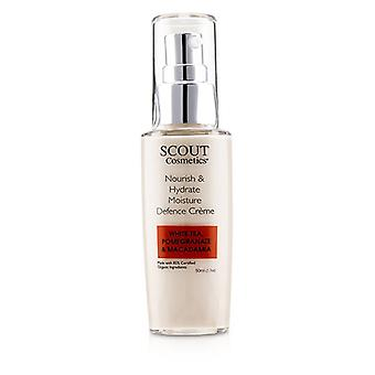 Scout Cosmetics Nourish & Hydrate Moisture Defence Creme With White Tea Pomegranate & Macadamia - 50ml/1.7oz