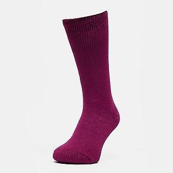 New Heat Holders Women's Original Thermal Socks Raspberry