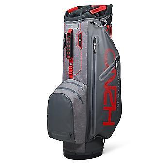 Dom montanha H2NO Superlite impermeável carrinho Trolley saco de golfe gunmetal/vermelho