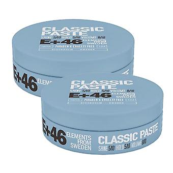 2-pack E 46 Classic Pâte 100ML