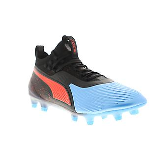 Puma en 19,1 FG AG mens Black Athletic Soccer cleats skor
