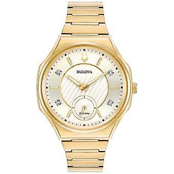 Bulova | Curv | Women's | Gold Tone Bracelet | 97P136 Watch