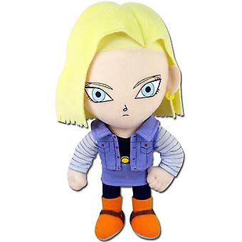 Plush - Dragon Ball Z - New Android #18 8'' Anime Soft Doll Toys ge52719