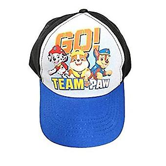 Baseball Cap - Paw Patrol - Go Team Black/Blue Kids Boys 382886