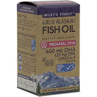 Wiley's Finest Wiley's Finest Prenatal DHA 60 Count