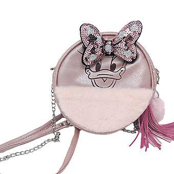 Disney Daisy Duck Round Handbag with Sequins