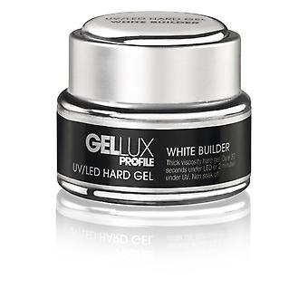 Salon System Gellux UV and LED Hard Gel White Builder 15ml