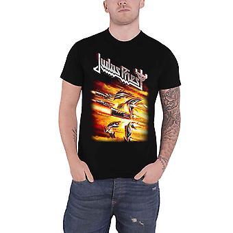 Judas Priest T Shirt Firepower Album Band Logo new Official Mens Black