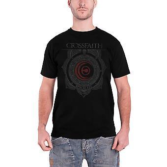 Crossfaith T Shirt Ornament band logo Official Mens New Black