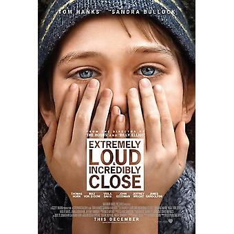 Extremely Loud & Incredibly Close Poster Double Sided Regular (2011) Original Cinema Poster