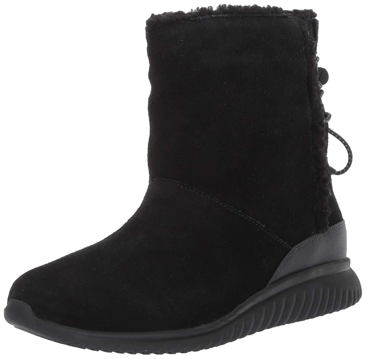Cole Haan Womens StudioGrand Faux Fur Closed Toe Ankle Cold Weather Boots MUBBs