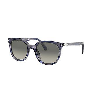 Persol PO3216S 108371 Striped Grey/Grey Gradient Dark Grey Sunglasses