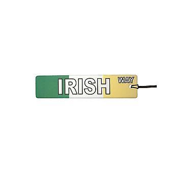 Irische Weise Straßenschild Auto-Lufterfrischer