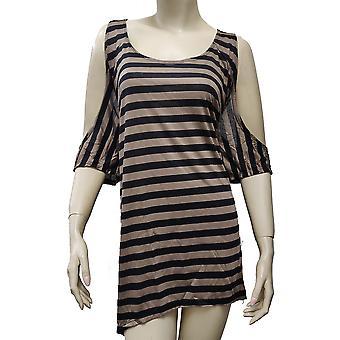 SO8005PR - WSST - Women's Cold Open Shoulder Short Sleeve Shirt