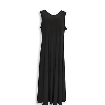 Postawy Renee Petite Sukienka L Como Jersey Pull On Black A347505