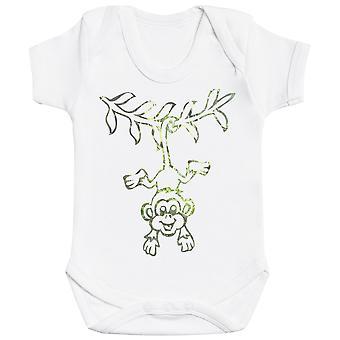 Hanging Monkey - Baby Bodysuit