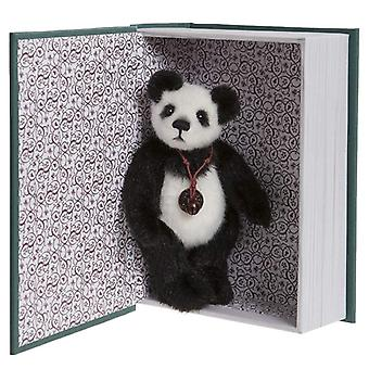 Charlie Bears Snuggleability with book 13 cm