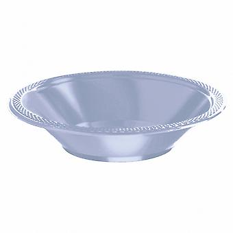 Amscan 355ml Solid Colour Plastic Bowls (Pack Of 20)