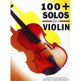 100 Solos For Violin by Music Sales Corporation
