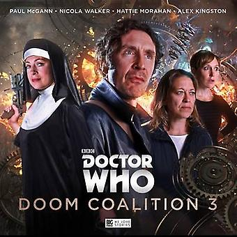 Doom Coalition par John Dorney et Matt Fitton et Cover design ou artwork by Tom Webster and By composer Benji Clifford and By composer Jamie Robertson and Performed by Paul McGann and Performed by Nicola Walker and Performed by Hat