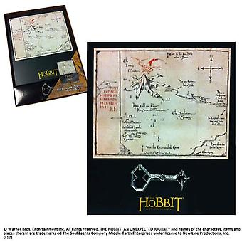 Thorin Oakenshield Map and Key Prop Replica from The Hobbit An Unexpected Journey