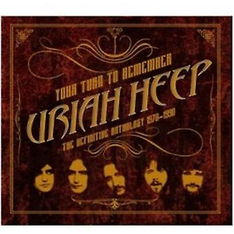 Uriah Heep - Your Turn to Remember: The Definitive Anthology [CD] USA import