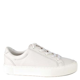 UGG Zilo Off White Leather Trainer