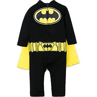 Warner Bros. Superman Toddler Boys, Batman Coverall (12 Months and Up), Size 3T