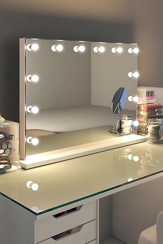 RGB Anastasia Audio White Edge Mirror (Grand) Daylight