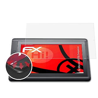 atFoliX 2x Screen chránič kompatibilný s Wacom CINTIQ Companion Screen Protection film jasný