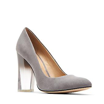 Katy Perry Womens A.w. Lucite Closed Toe Classic Pumps