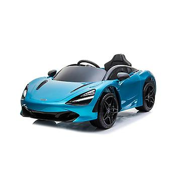 Licensed McLaren 720S 12V Electric Ride on Car With Leather Seat Blue