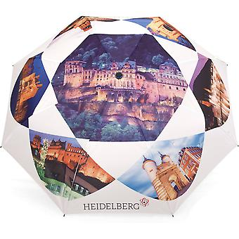 Umbrella automatic Pocket umbrella motif Heidelberg