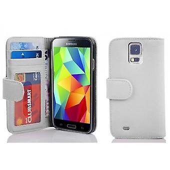 Cadorabo sag for Samsung Galaxy S5 / S5 NEO sag dækning - telefon sag med magnetisk lås og 3 kort rum - Case Cover Beskyttende sag Book Folding Style