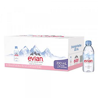 Evian Spring Water Plast-( 330 Ml X 24 Flasker )