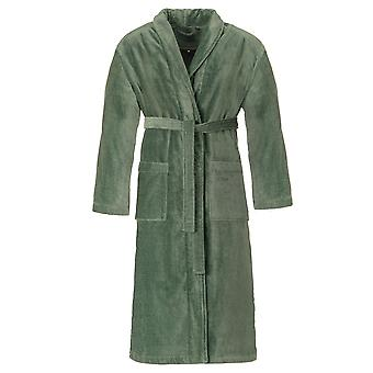 Vossen 162425-5525 Men's Feeling-L Evergreen Cotton Dressing Gown Robe