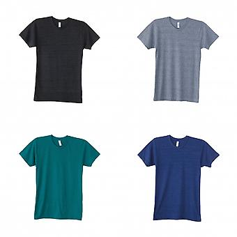 American Apparel Mens Triblend Track T-Shirt
