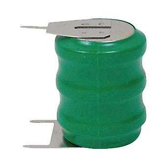 Emmerich 251551 NiMH 60H 3.6V Button Cell Rechargeable Battery Pack PCB Pins